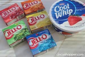 jello colors rainbow jell o recipe cincyshopper