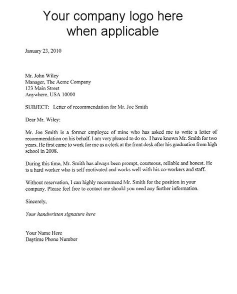 Asking For A Letter Of Recommendation Template Letter Of Recommendation Template Letters Of