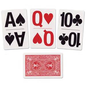 print deck of cards maxiaids large print bridge size cards