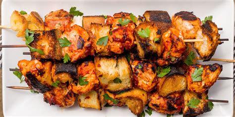 best italian chicken skewer recipe how to make italian chicken skewers delish com