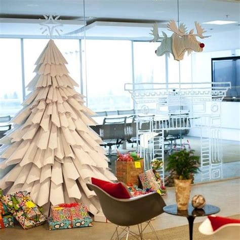 unusual homemade christmas trees furnish burnish