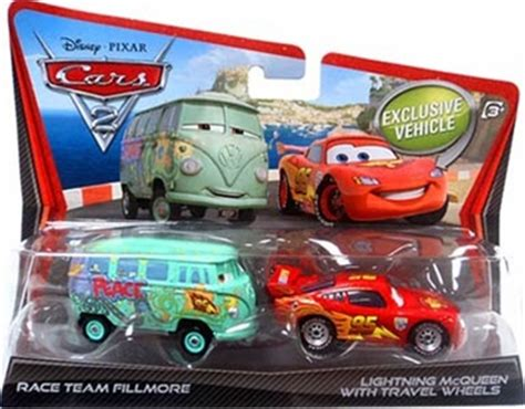 The Cars 2 Fillmore Race Team mattel v2839 cars 2 race team fillmore lightning mcqueen