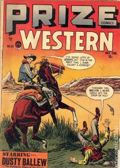 Westerns Graphic Novels Comics Books Prize Comics Western 1948 Comic Books