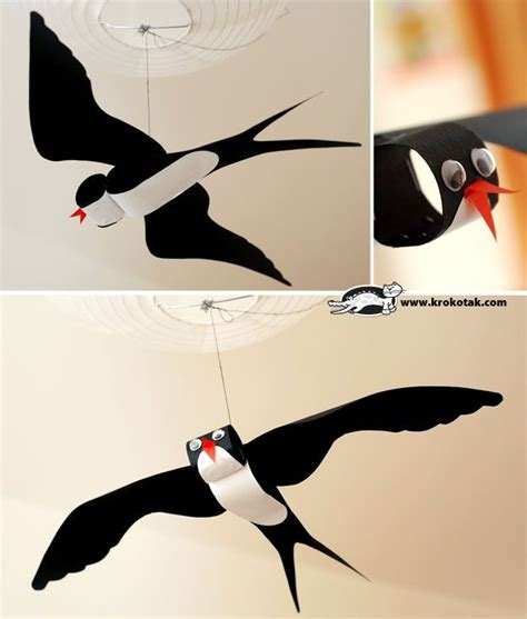 How To Make Bird Using Paper - really cool using paper towel toilet paper