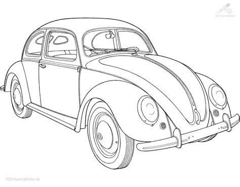 Auto Malvorlage by Malvorlage Volkswagen Kafer