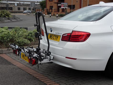 525D with bicycle rack