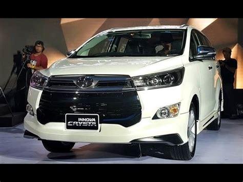 Toyota Innova Crysta Facelift 2020 by 2017 Toyota Innova Crysta Facelift Look Walkaround