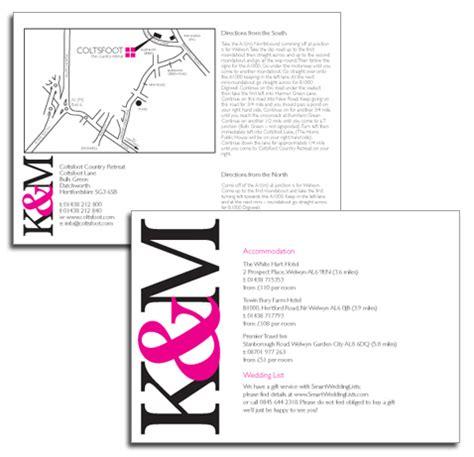 wedding guest information wording wedding information card