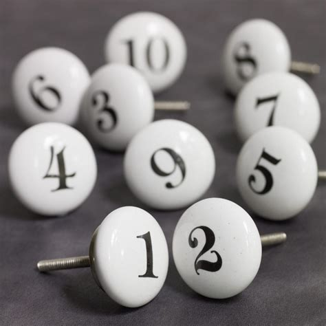 number knobs home accessories graham and green