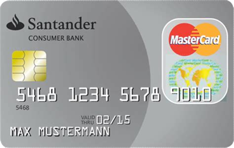 santander consumer bank kreditkarte santander travelcard kreditkarte jetzt holen