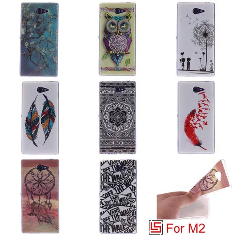 Softcase Silicon Ultra Thin For Sony Xperia M2 D2303 D2305 T19 1 מוצר fashion ultra thin tpu silicone soft phone cell mobile cover bag for sony soni