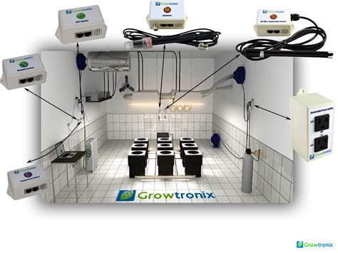 grow room controller gt growtronix grow room and greenhouse environment computer automation controller