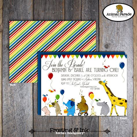 printable zoo animal invitations animal parade invitation animal parade invite zoo party