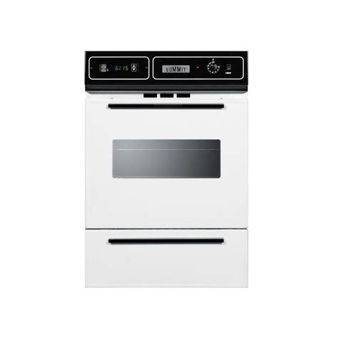 Oven Gas Home Industri frigidaire 24 in single gas wall oven self cleaning in