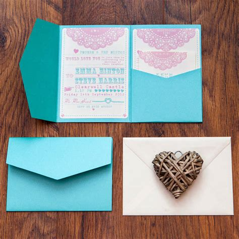 Pocket Invitations by How To Make Pocket Invitations A Simple Guide