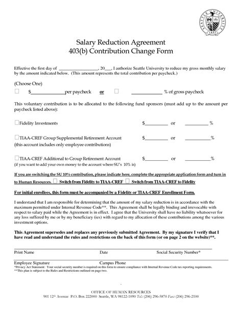 Salary Agreement Letter Format 12 Best Images Of Salary Agreement Contract Sle Employment Contract Template Employee