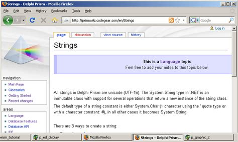 delphi tutorial about jcolibri delphi prism tutorial