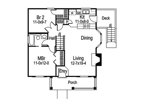 vacation cabin floor plans woodsmill vacation cabin home plan 007d 0042 house plans