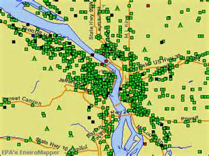 radon map oregon portland metro zip code map