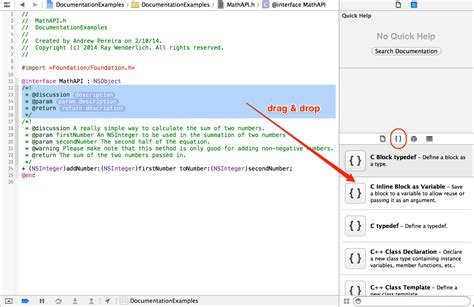 tutorial doxygen c documenting in xcode with headerdoc tutorial