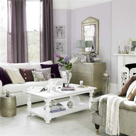 purple and gray living room gray and purple living rooms