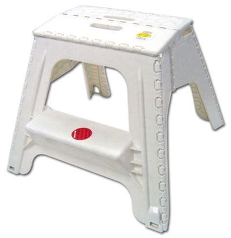 Folding Plastic Step Stool by Plastic Portable 2 Steps Folding Step Stool Buy Folding