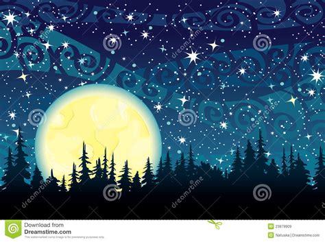imagenes libres luna cielo nocturno y luna