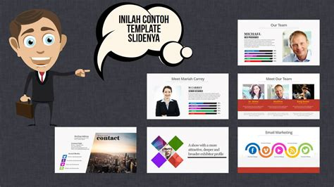 download template powerpoint keren youtube