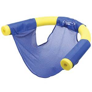 floating chairs new set 2 swimways floating pool noodle sling mesh