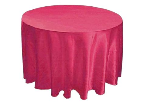 tablecloth factory launches table linen satin