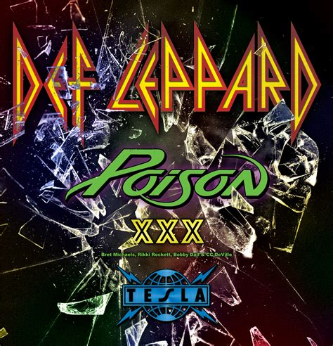 New Def Leppard Poison def leppard announce 2017 tour with poison tesla gslm