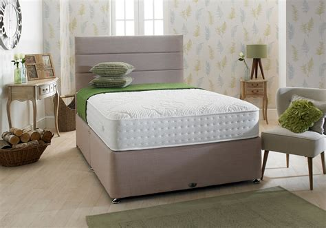 shire beds shire beds eco comfy 3ft single divan bed