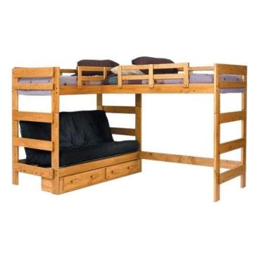 9 best images about bunk bed with futon bottom on