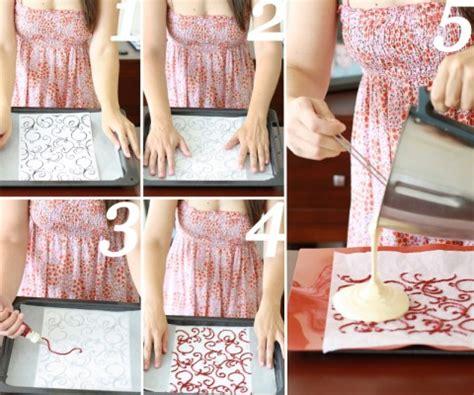 como decorar un pastel infantil paso a paso c 243 mo decorar un brazo de gitano paso a paso pequerecetas