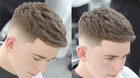 Crop Hairstyles by The Top 10 Crop Haircut Guys Hairstyles Trends