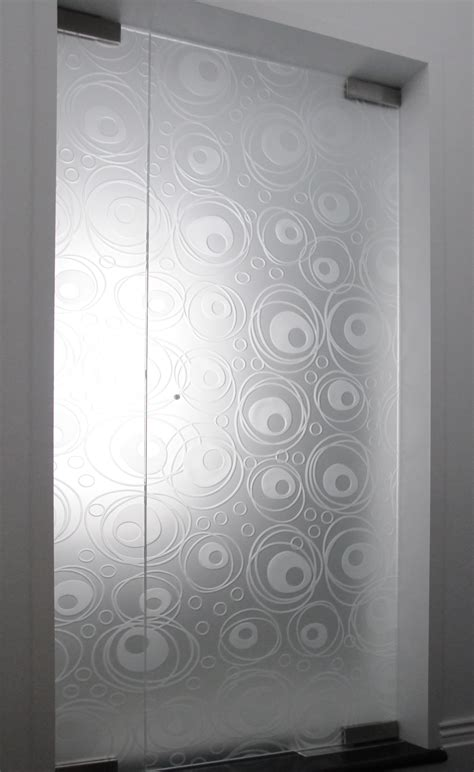 Etched Glass Shower Door Designs Antha Satin Glass Door By Gidea Loversiq