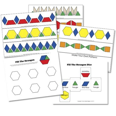 pattern activities preschool free alphabet pattern block printables confessions of a