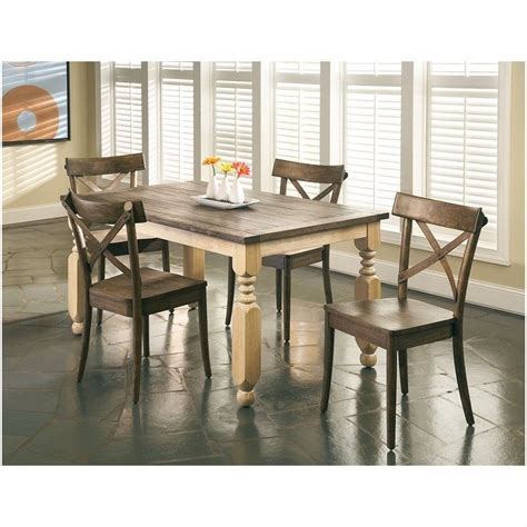 Coronado Rectangular Dining Table By with Largo Furniture Coronado Rectangular Dining Table In Chocolate D210 30