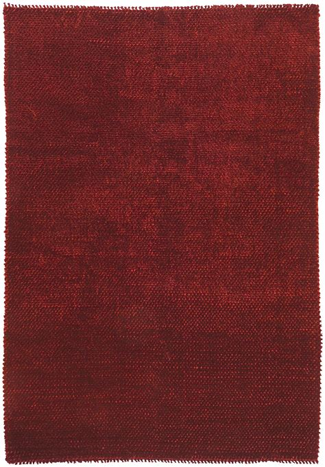wolldecke rot surya shadow rug