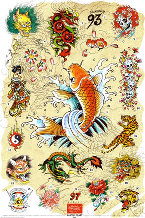ed hardy japanese tattoo designs tattoos book 65 000