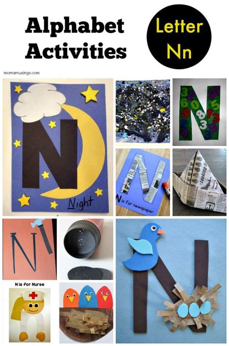 kindergarten up letter letter n alphabet activities for preschool kindergarten