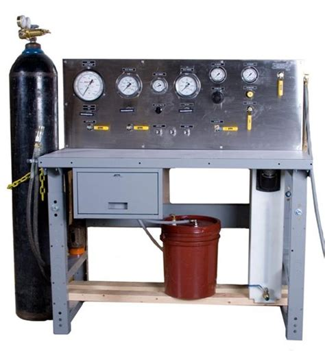 high pressure test bench pressure testing bench on maxpro technologies inc