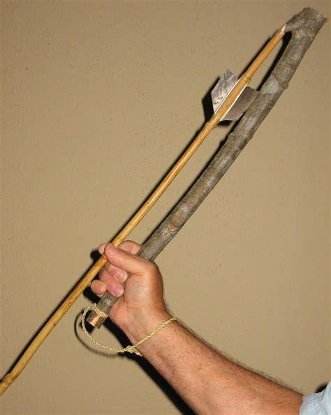 primitive tools using the atlatl and dart sensible survival