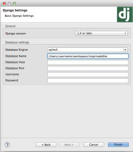 django tutorial explained working with django and eclipse geek garage