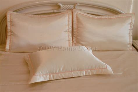 How To Make A Pillow At Home by How To Make Pillowcases Envelope Pillow Cover Pillow