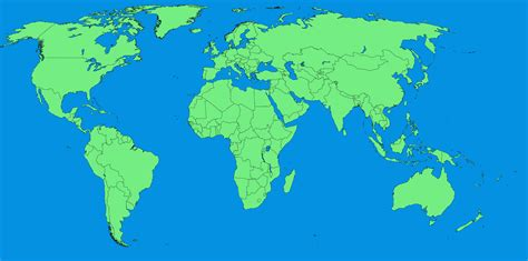 printable blank world map  printable maps