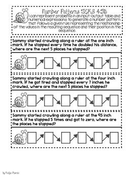 pattern rule for perimeters 4th grade teks number patterns perimeter and area