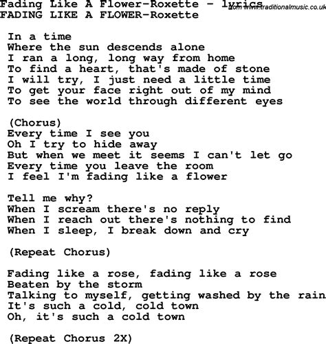 like lyrics flowers lyrics