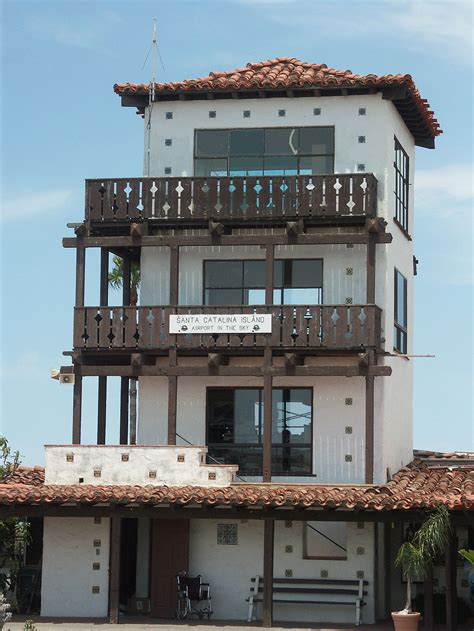fileusa santa barbara airport control tower jpg wikimedia commons catalina island builds an airport in the sky south bay