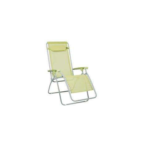 fauteuil de relaxation multipositions pliable lafuma